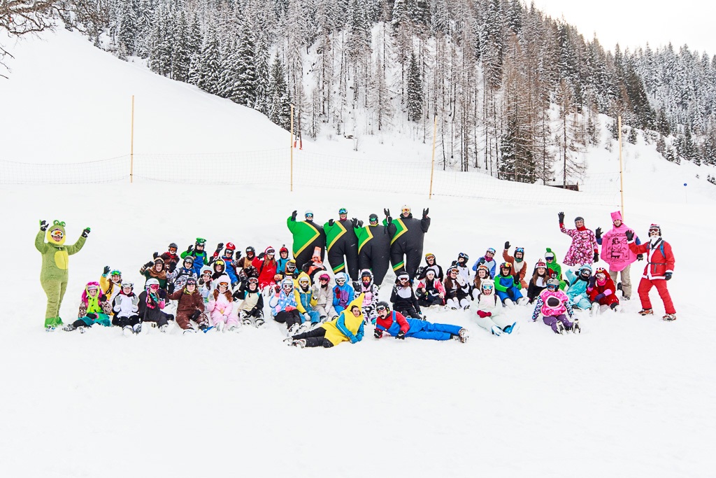Day Four Skiing 2016 - Fancy Dress