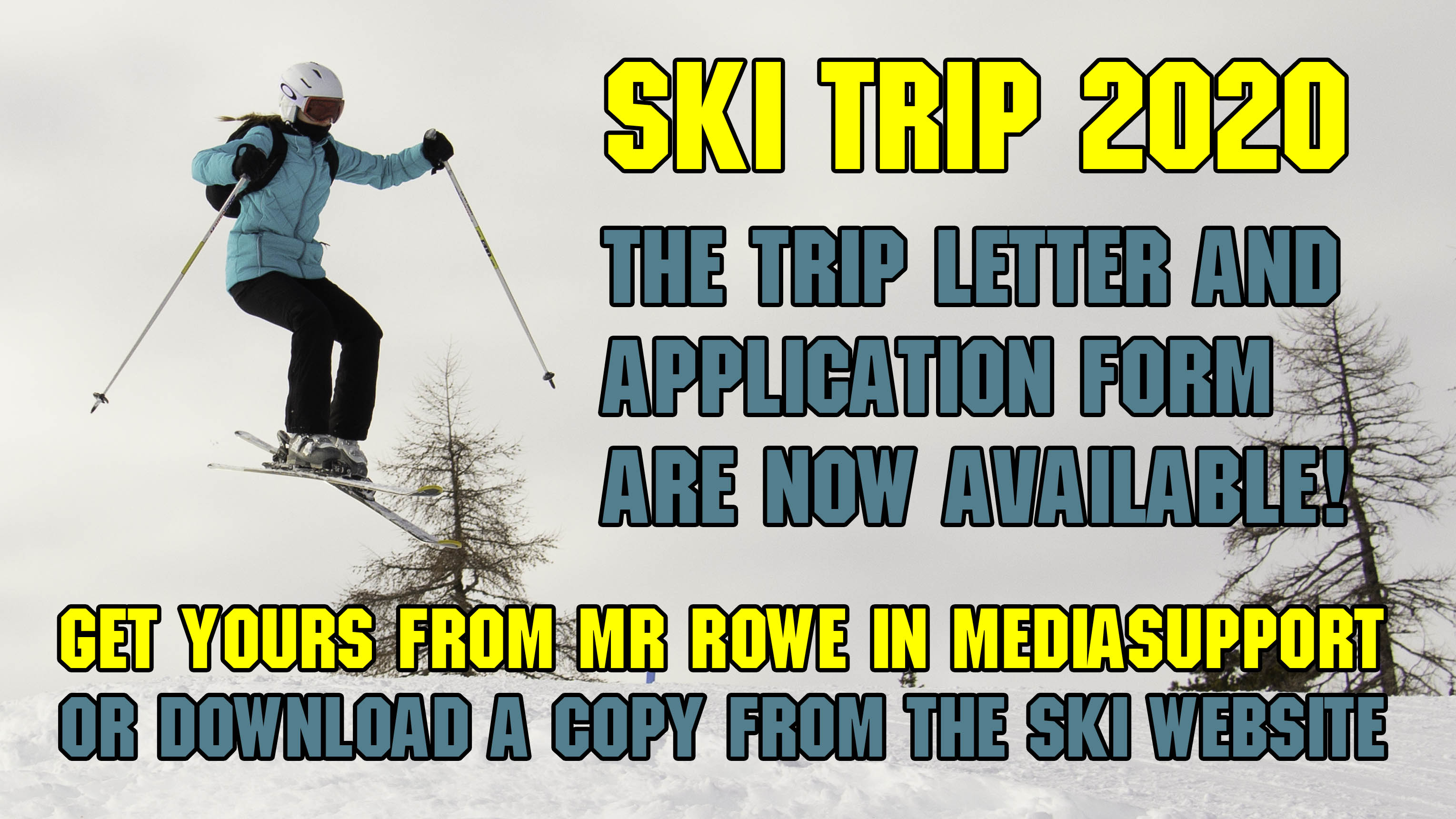 Calling all skiers...and non-skiers..basically calling everyone!